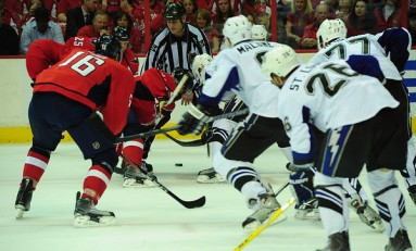 Caps Drop Second Straight at Home, Lightning Lead Series 2-0