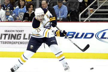 Drew Stafford lit the lamp 31 times for the Sabres in an abbreviated 62-game season.