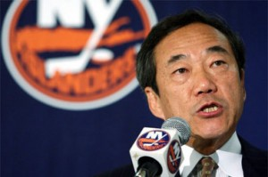 Charles Wang and his team could benefit from the lockout