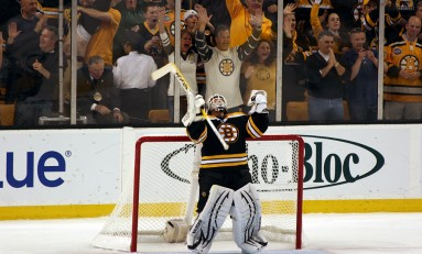 Boston Bruins vs Tim Thomas and the Florida Panthers Part 1: A Running Diary
