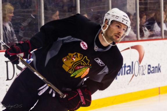 Troy Brouwer, Chicago Blackhawks