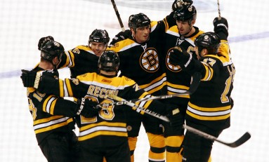 Late Game Heroics Helping Bruins Playoff Push