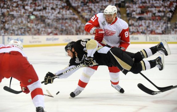 Tyler Kennedy, Marian Hossa, Pittsburgh Penguins, Detroit Red Wings