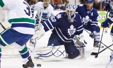 Maple Leafs' Gustavsson Beginning to Shine Without Reimer