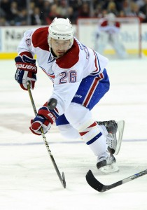 Josh Gorges is clearly exhausted which hurts the penalty kill (Icon SMI)