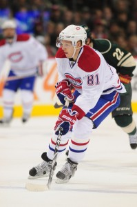 Montreal Canadiens forward Lars Eller