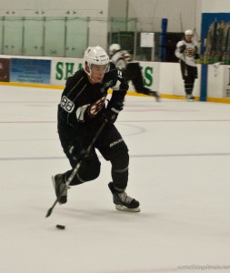 Josh Jooris, an undrafted and unsigned invitee to the Bruins' 2011 Development Camp performed above expectation. (Photo courtesy Sarah Connors)