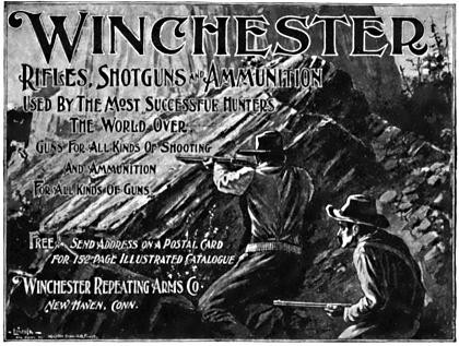 Winchester Repeating Arms ad from 1898