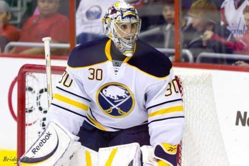 Ryan Miller is the most valuable piece of this trade deadline piece with a fantasy hockey impact. (File Photo)