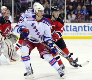 Brandon Dubinsky Rangers