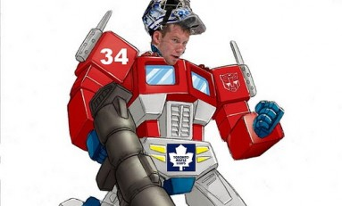 Optimus Reim: Goaltending As Performance Art
