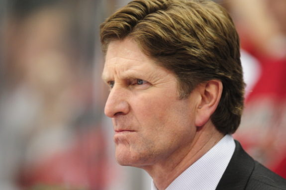 Mike Babcock Coach Maple Leafs