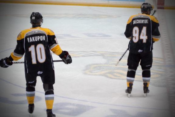 Nail Yakupov Alex Galchenyuk Sarnia Sting