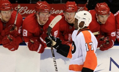 Mike Who? Simmonds Simmers For Flyers