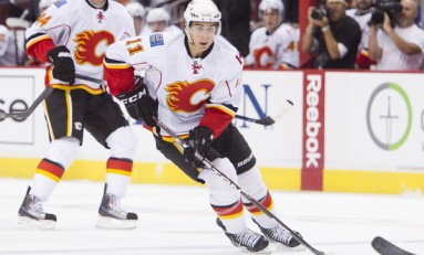 Flames Tease with Strong First Period in Season Opener