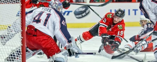 Blue Jackets vs. Blackhawks