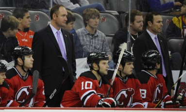 New Jersey Devils Rivalry with Rangers Heats Up