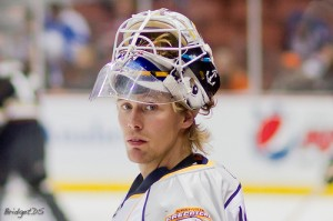 Anders Lindback will look to backstop the Lightning to a playoff run. (Flickr/BridgetDS)