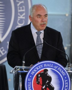 OHL Commissioner David Branch is setting an example for all hockey leagues (Aaron Bell/CHL Images)
