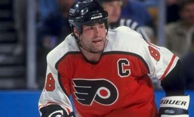 Flyers Honor One of the Greats: Eric Lindros