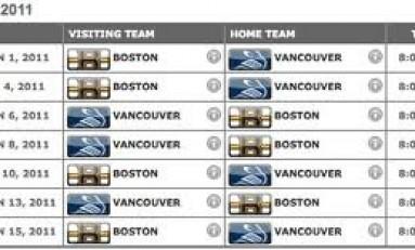 NHL 2011-2012: Is Your Team Scheduled for Success?