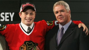 Jack Skille with Dale Tallon