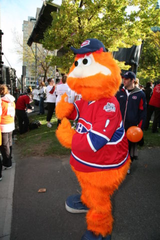 Youppi! Mascot of the Montreal Canadiens (creative commons/wikipedia.org)
