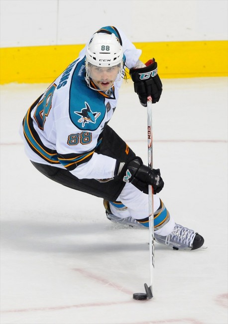 Brent Burns Sharks playoffs