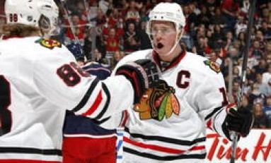Captain Not So Serious:  Jonathan Toews of the Chicago Blackhawks and HNIC