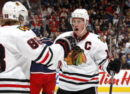 'Chicago Blackhawks Jonathan Toews'