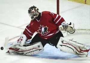 who is team canada's starting goalie