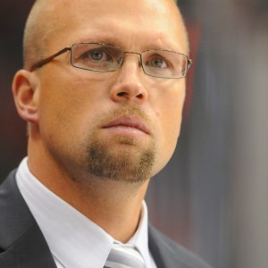 St. Louis Blues head coach Mike Yeo