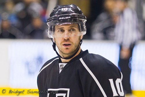 Mike Richards has one of the Kings' league-high nine long-term contracts. (Photo by Bridget Samuels).