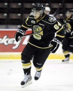 Ryan Rupert was a Leafs draft pick who is used to winning with the OHL's Knights (Aaron Bell/OHL Images)
