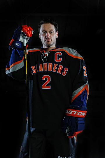 It won't be hard to tell who the captains are for the Islanders when they wear this jersey. (Photo courtesy of New York Islanders)
