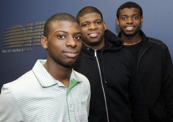 Jordan, P.K., and Malcolm Subban