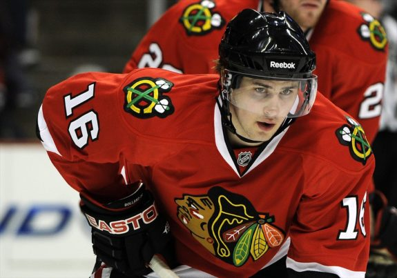 Marcus Kruger Blackhawks