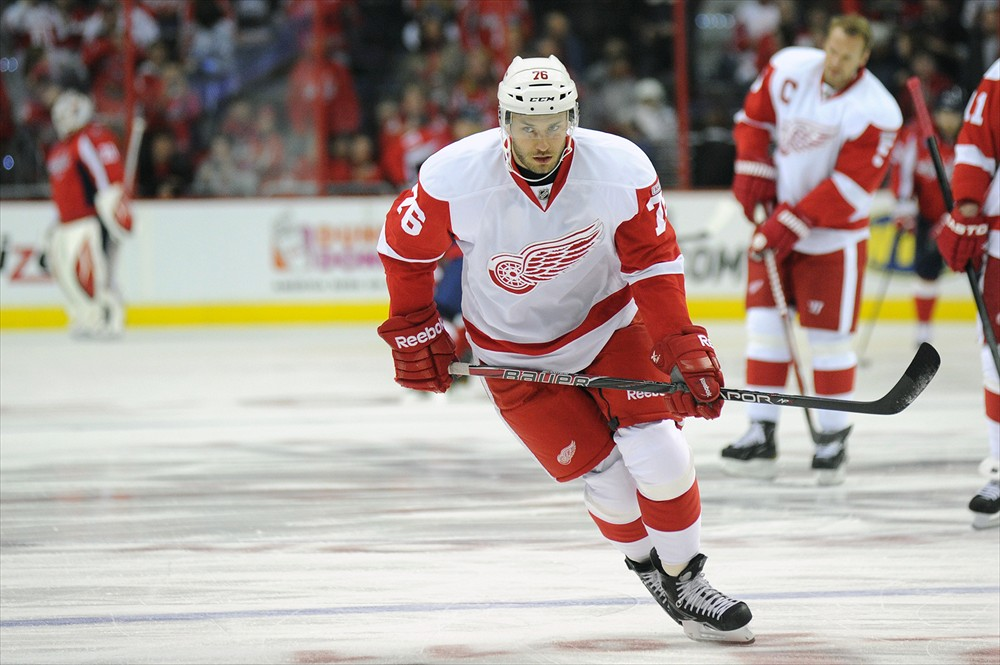 Fabian Brunnstrom Red Wings