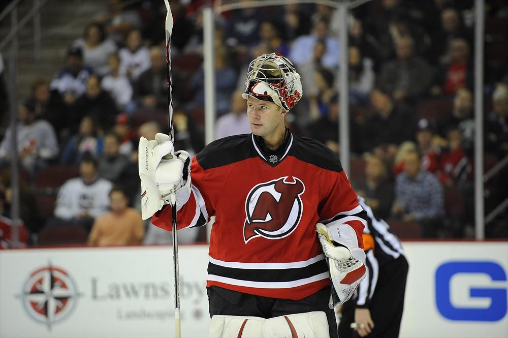 Johan Hedberg Devils goalie