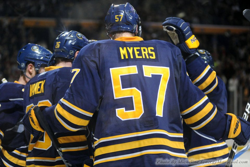 Tyler Myers Buffalo Sabres