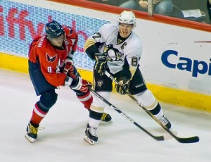 Alexander Ovechkin and Sidney Crosby are set to renew hostlities tonight in Washington.