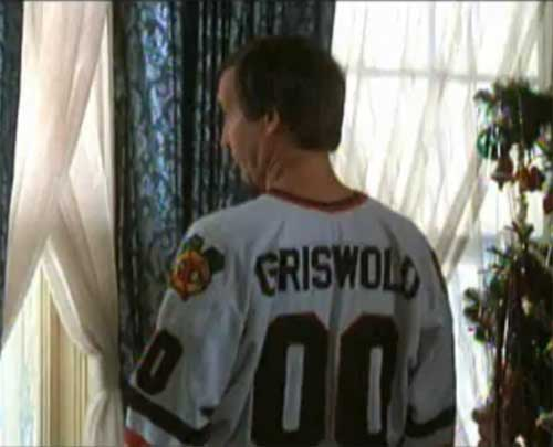Clark Griswold, Christmas Vacation, Chicago Blackhawks