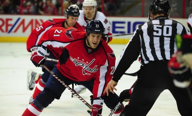 The Top Ten Washington Capitals Centers