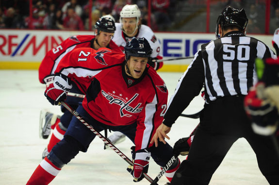 best washington capitals centers