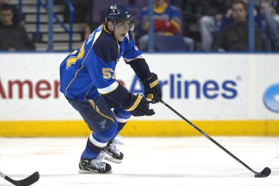 David Perron, St. Louis Blues