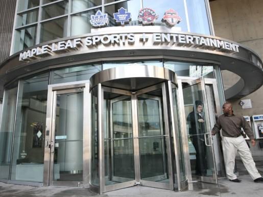MLSE, Maple Leafs Sports and Entertainment, NHL, Hockey, Toronto FC, Toronto Raptors
