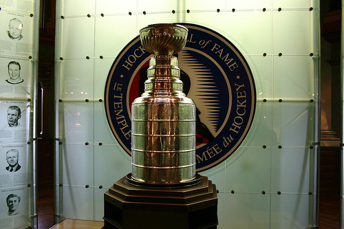 The Stanley Cup  (cr: mastermaq@flickr)