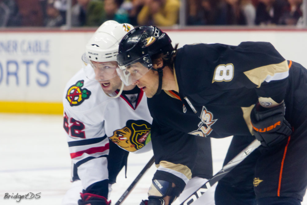 Teemu Selanne taught Kyle Palmieri (among others) a lot about being a pro. (BridgetDS/Flickr)