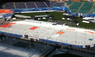 2012 Winter Classic Photos: View of Rink from a Few Sections