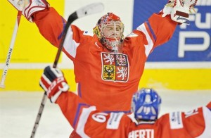 Current Detroit Red Wings goalie Petr Mrazek starred for the Czech Republic world junior team.